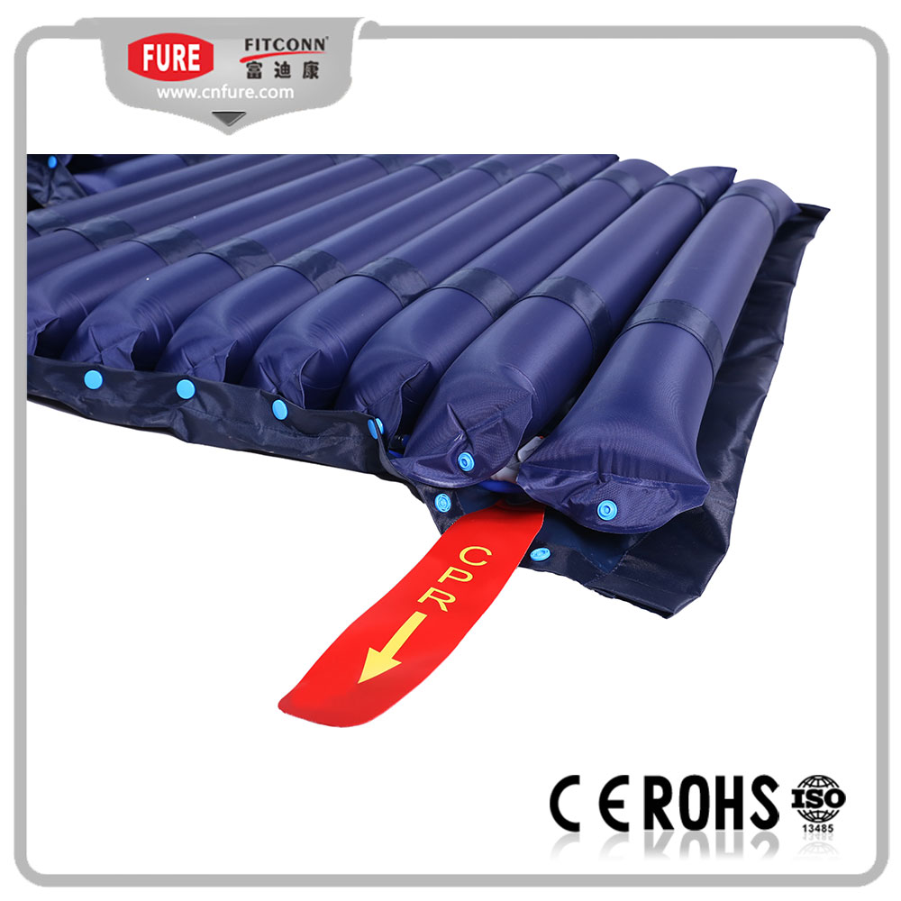 Tube air mattress with CPR