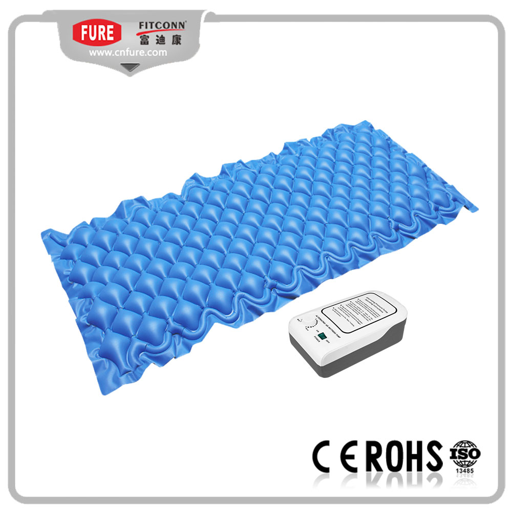 Blue color air mattress